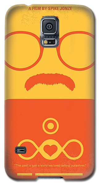 No372 My Her Minimal Movie Poster Galaxy S5 Case by Chungkong Art