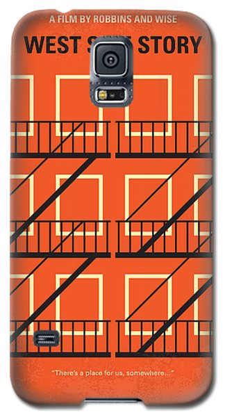 No387 My West Side Story Minimal Movie Poster Galaxy S5 Case by Chungkong Art