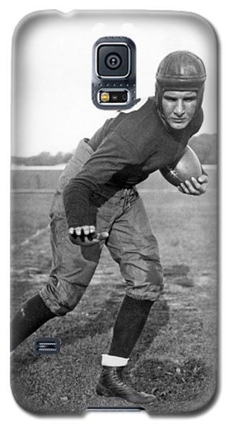 Notre Dame Star Halfback Galaxy S5 Case by Underwood Archives