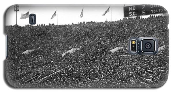 Notre Dame-usc Scoreboard Galaxy S5 Case by Underwood Archives
