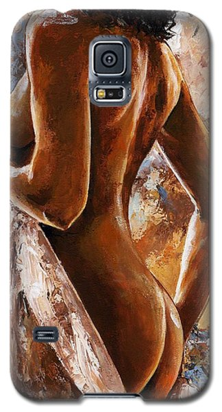 Nude 07 Galaxy S5 Case by Emerico Imre Toth