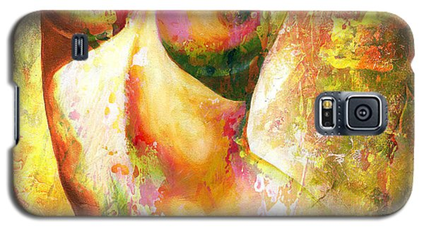 Nudes Galaxy S5 Cases - Nude details - Digital vibrant color version Galaxy S5 Case by Emerico Imre Toth