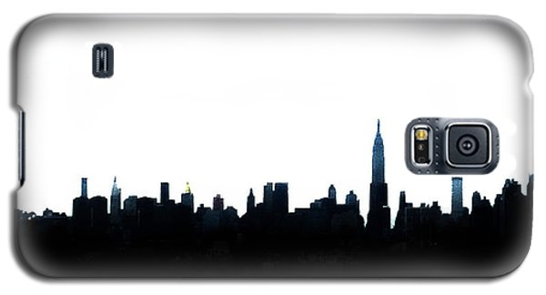Nyc Silhouette Galaxy S5 Case by Natasha Marco