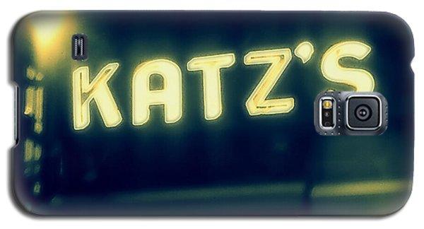 Nyc's Famous Katz's Deli Galaxy S5 Case by Paulo Guimaraes