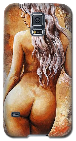 Nymph 02 Galaxy S5 Case by Emerico Imre Toth