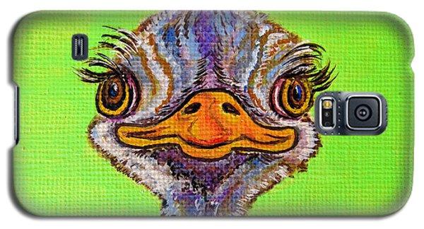 O For Ostrich Galaxy S5 Case by Ella Kaye Dickey