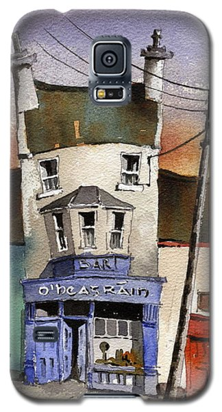 Paintings Galaxy S5 Cases - O Heagrain Pub in Ennistymon   Clare Galaxy S5 Case by Val Byrne