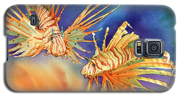 Ocean Lions Galaxy S5 Case by Tracy L Teeter