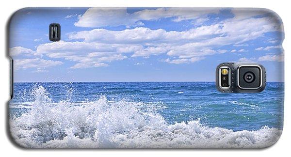 Buy Galaxy S5 Cases - Ocean surf Galaxy S5 Case by Elena Elisseeva