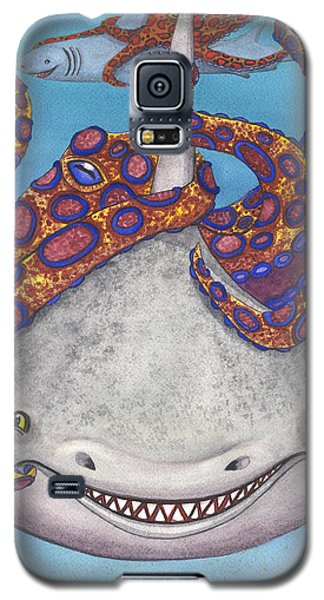 Octopied Galaxy S5 Case by Catherine G McElroy