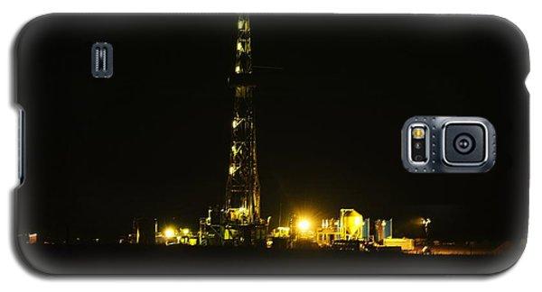 Oil Rig Galaxy S5 Case by Jeff Swan