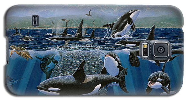 Orca Play Re009 Galaxy S5 Case by Carey Chen