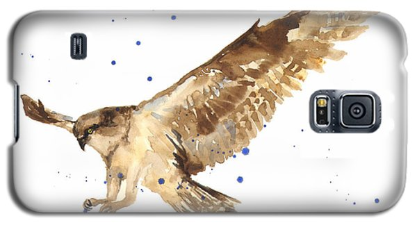 Osprey Painting Galaxy S5 Case by Alison Fennell