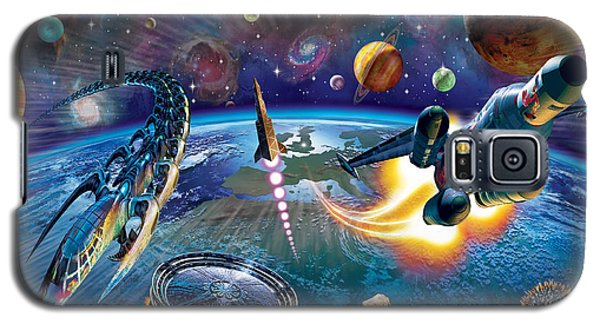 Outer Space Galaxy S5 Case by Adrian Chesterman