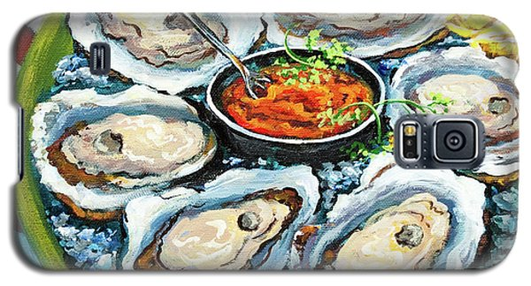 Impressionism Galaxy S5 Cases - Oysters on the Half Shell Galaxy S5 Case by Dianne Parks