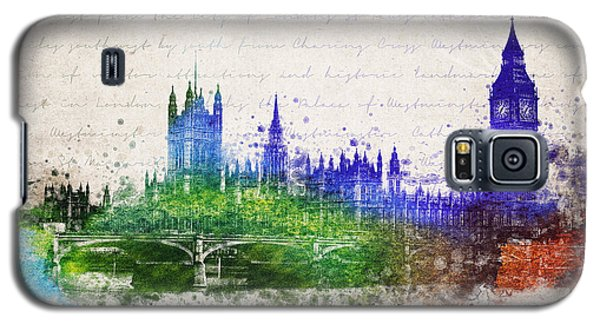 Palace Of Westminster Galaxy S5 Case by Aged Pixel
