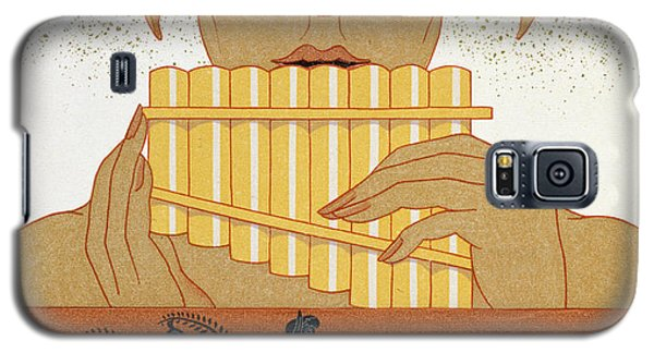 Pan Piper Galaxy S5 Case by Georges Barbier