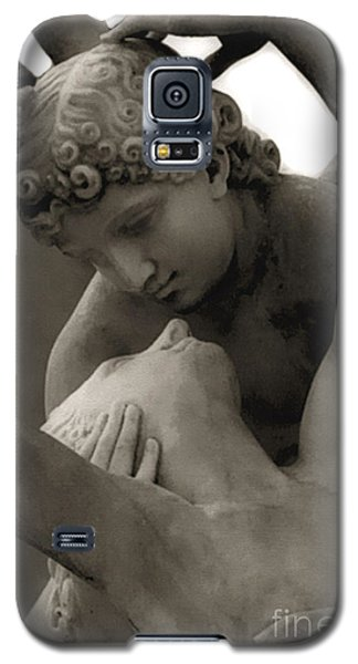 Paris - Eros And Psyche Romantic Sculpture Galaxy S5 Case by Kathy Fornal