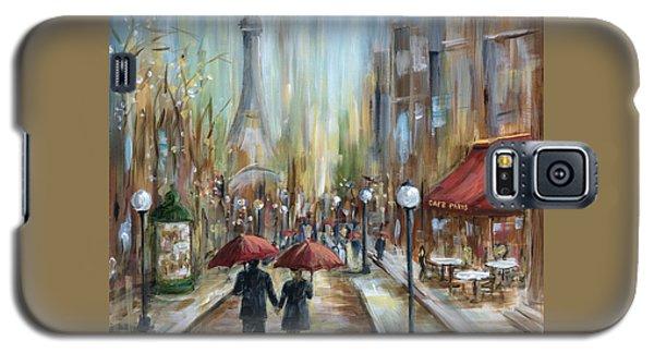Paris Lovers Ill Galaxy S5 Case by Marilyn Dunlap