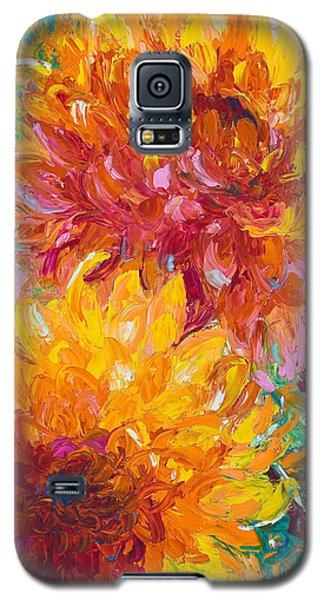 Yellow Galaxy S5 Cases - Passion Galaxy S5 Case by Talya Johnson