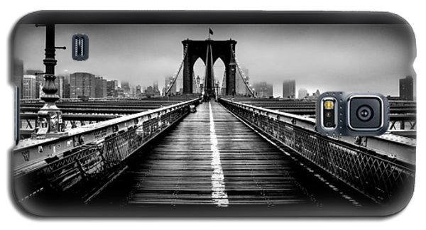 Path To The Big Apple Galaxy S5 Case by Az Jackson