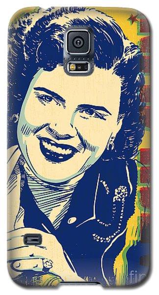 Patsy Cline Pop Art Galaxy S5 Case by Jim Zahniser