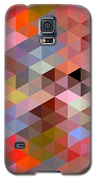 Pattern Of Triangle Galaxy S5 Case by Mark Ashkenazi