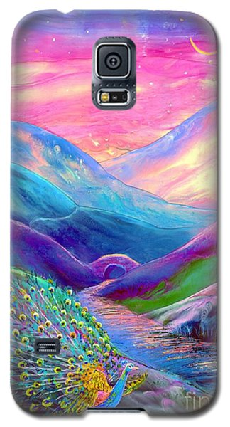Peacock Magic Galaxy S5 Case by Jane Small