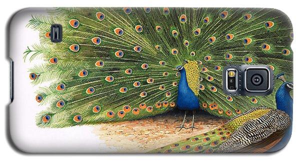 Peacocks Galaxy S5 Case by RB Davis