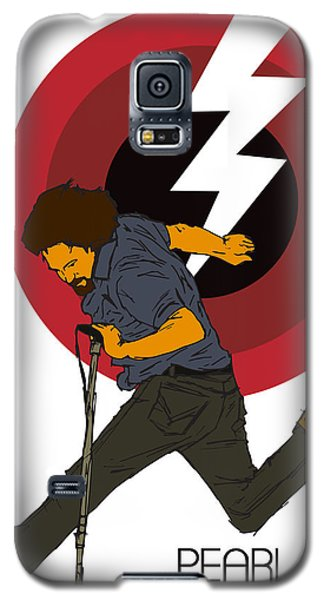 Pearl Jam Lightning Bolt Galaxy S5 Case by Tomas Raul Calvo Sanchez