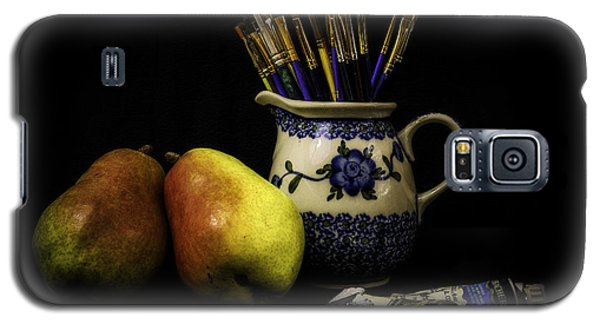 Pears And Paints Still Life Galaxy S5 Case by Jon Woodhams