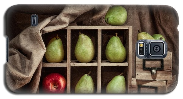 Pears On Display Still Life Galaxy S5 Case by Tom Mc Nemar