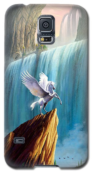 Pegasus Kingdom Galaxy S5 Case by Garry Walton