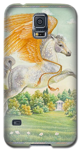 Pegasus Galaxy S5 Case by Lynn Bywaters