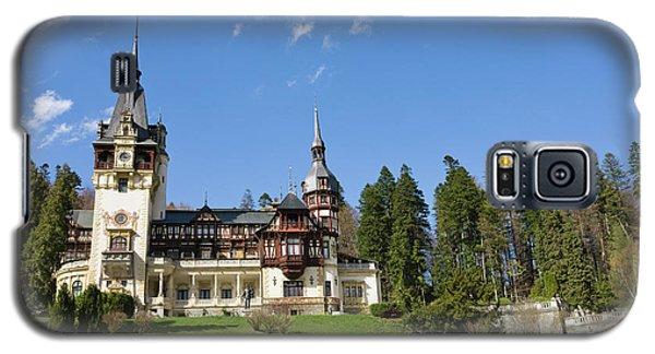 Peles Castle, Sinaia, Carpathian Galaxy S5 Case by Martin Zwick