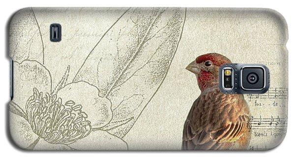 Bird Galaxy S5 Cases - Perched Galaxy S5 Case by Rebecca Cozart