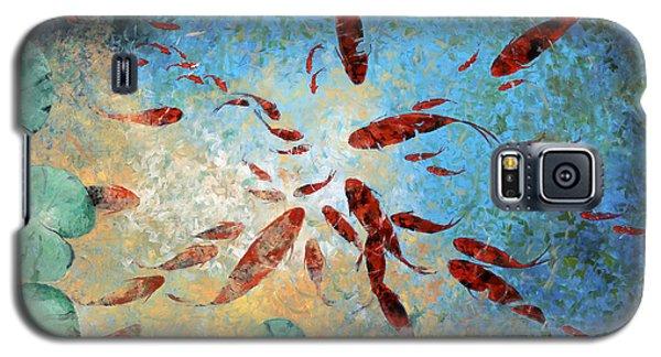 Koi Rotanti Galaxy S5 Case by Guido Borelli