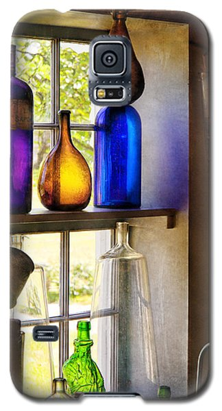 Pharmacy - Colorful Glassware  Galaxy S5 Case by Mike Savad