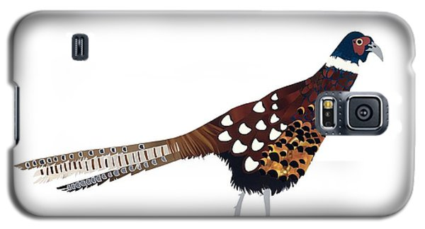 Pheasant Galaxy S5 Case by Isobel Barber