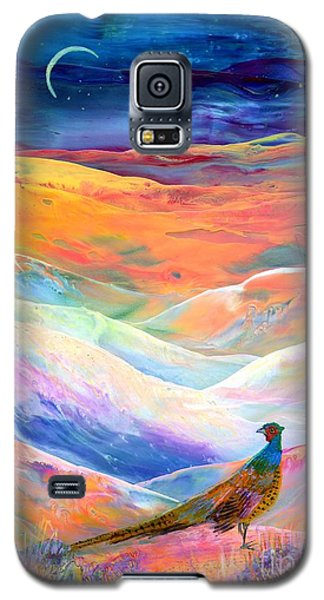 Pheasant Moon Galaxy S5 Case by Jane Small