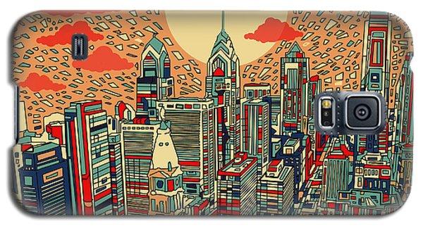 Philadelphia Dream Galaxy S5 Case by Bekim Art
