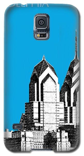 Philadelphia Skyline Liberty Place 1 - Ice Blue Galaxy S5 Case by DB Artist
