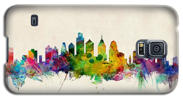 Philadelphia Skyline Galaxy S5 Case by Michael Tompsett