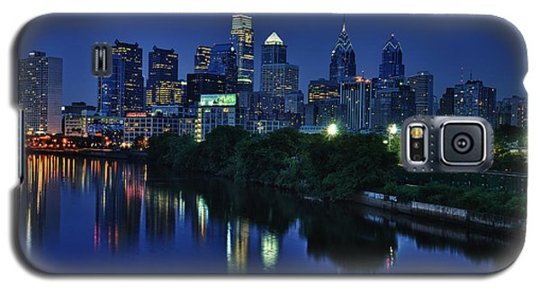 Philly Skyline Galaxy S5 Case by Mark Fuller