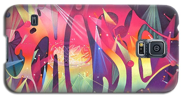 Celebrities Galaxy S5 Cases - Phish the Mother Ship Galaxy S5 Case by Joshua Morton
