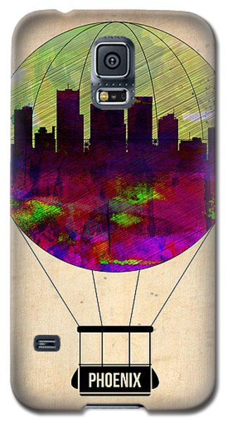 Phoenix Air Balloon  Galaxy S5 Case by Naxart Studio