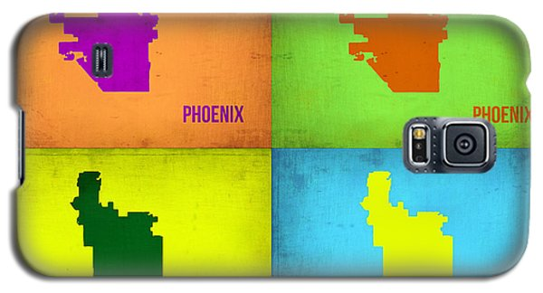 Phoenix Pop Art Map Galaxy S5 Case by Naxart Studio