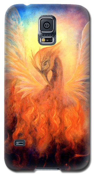 Phoenix Rising Galaxy S5 Case by Marina Petro
