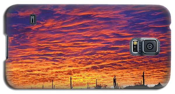 Phoenix Sunrise Galaxy S5 Case by Jill Reger