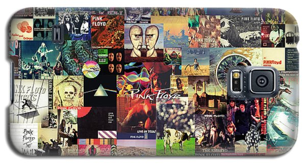 Music Galaxy S5 Cases - Pink Floyd Collage II Galaxy S5 Case by Taylan Soyturk